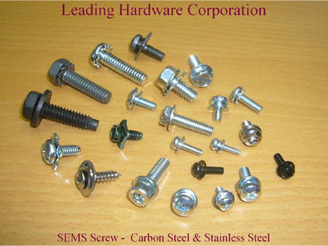 SEMS Screw - Carbon Steel & Stainless Steel